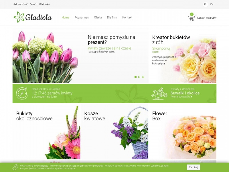 GLADIOLA - Najlepsze bukiety i wiązanki ślubne - Suwałki