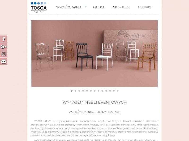 TOSCA - Wypożyczalnia Mebli Ślubnych