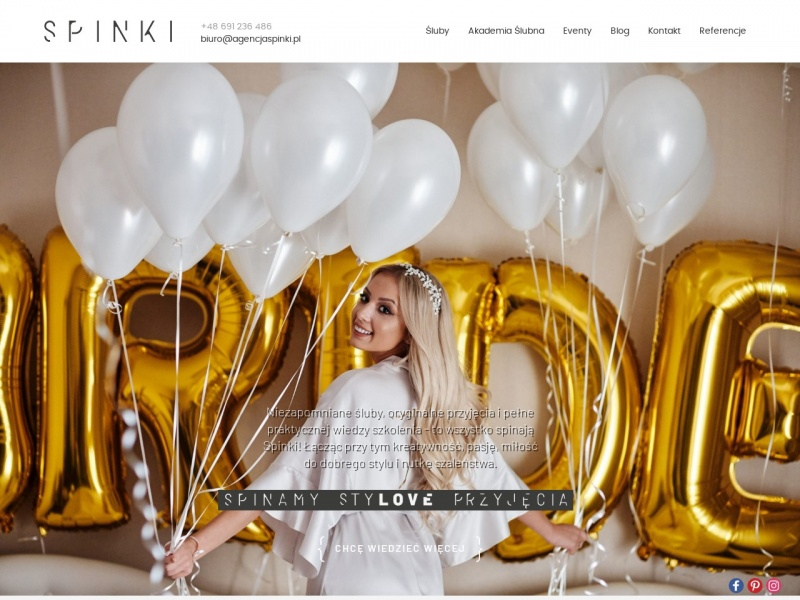 Agencja Spinki-organizacja wesela