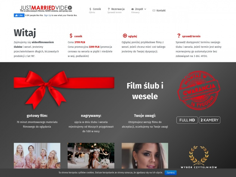 JM Video filmy weselne