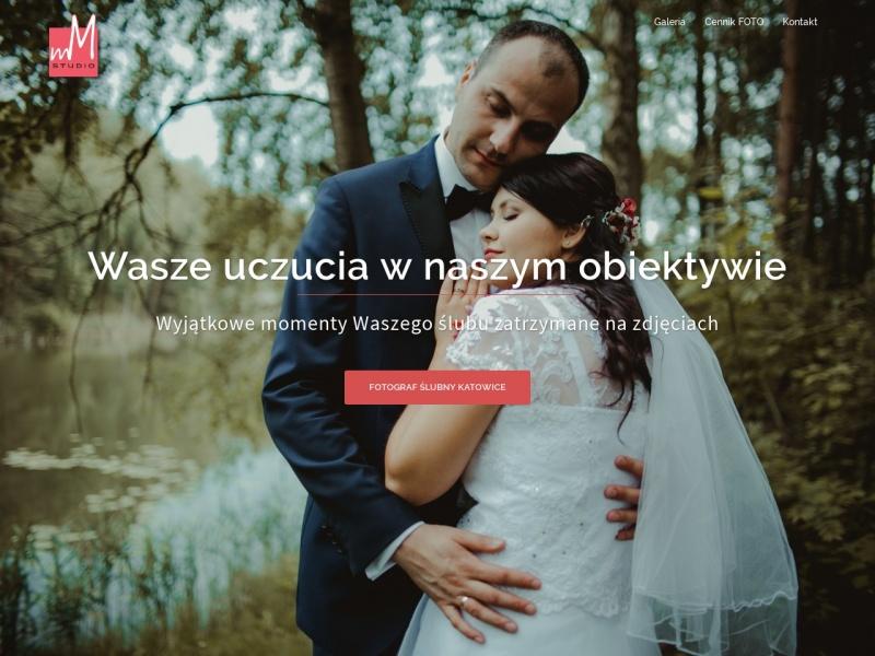 fotograf ślubny MM Studio Śląsk