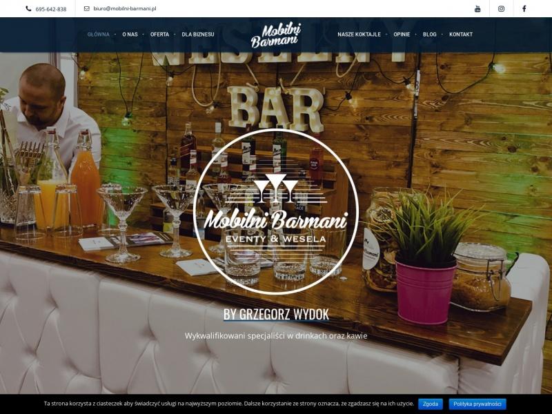 Barman na wesle I Weselny drink bar
