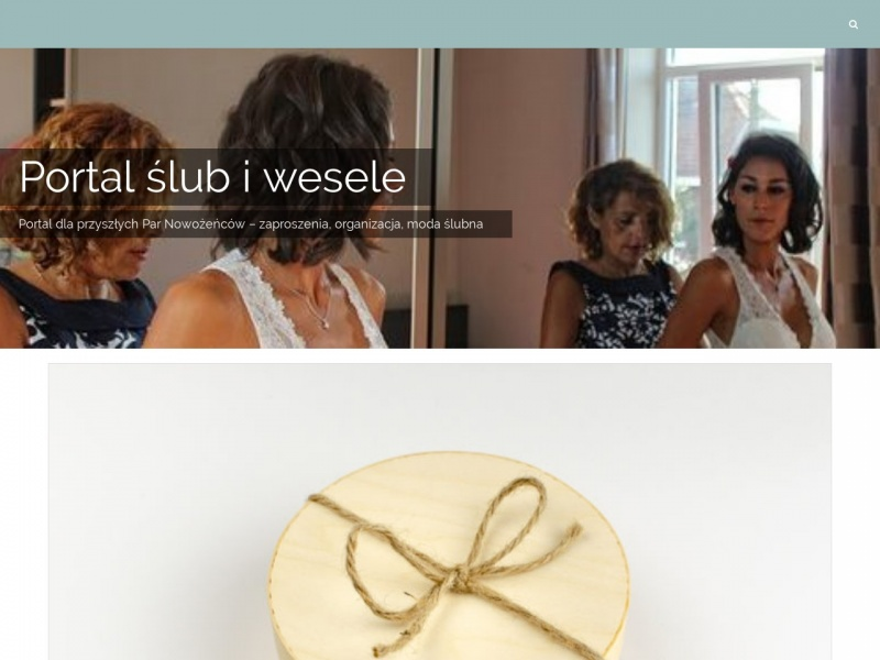 Portal o ślubach i weselach