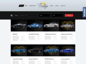 Prestige Car Club wypożyczalnia samochodów luksusowych